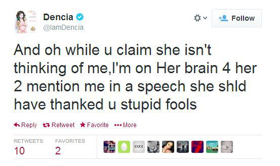 Dencia Responds to Lupita Essence Speech 5