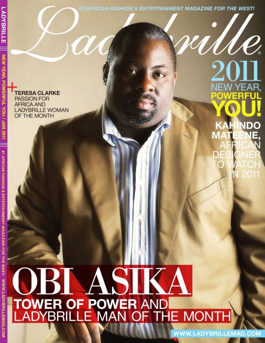 Obi Asika Man of the Month Cover - Industry News | Storm 360's Obi Asika Brings THE VOICE Music Reality TV Show to Nigeria
