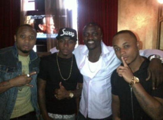 B-Red Davido Akon Shina Ranbo