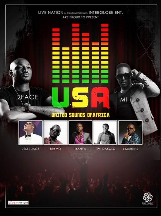 United Sounds of Africa Courtesy LIVE Nation and IMG Entertainment - Press Release: United Sounds of Africa Apologizes for Cancelled Tour - Now Muzik, Chocolate City Group, TuFace's Hypertek Entertainment et. al