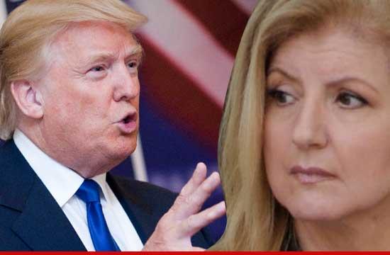 Donald Trump Arianna Huffington - Celebrities Behaving Badly: DONALD TRUMP ATTACKS Arianna Huffington ... No  Wonder Your Husband Left