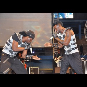 P-Square Performs in Rwanda to 54,000