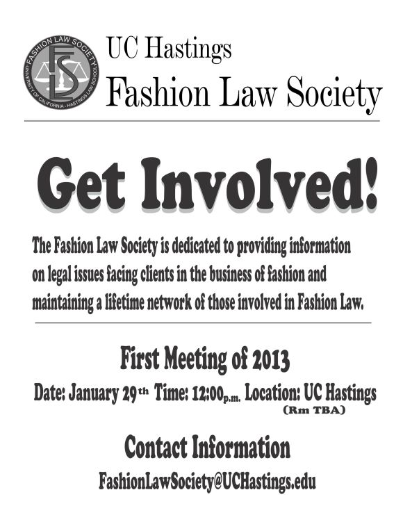 Hastings Launches Fashion Law Society