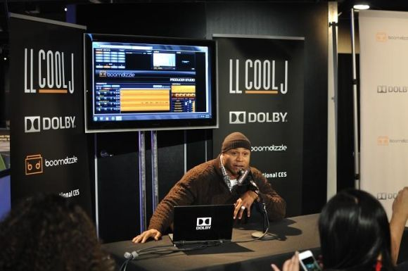 LL Cool J at CES Debuts Liquid  My Connect Studios Windows 8 App