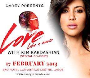 Darey Love Like A Movie Co-hosted by Kim K