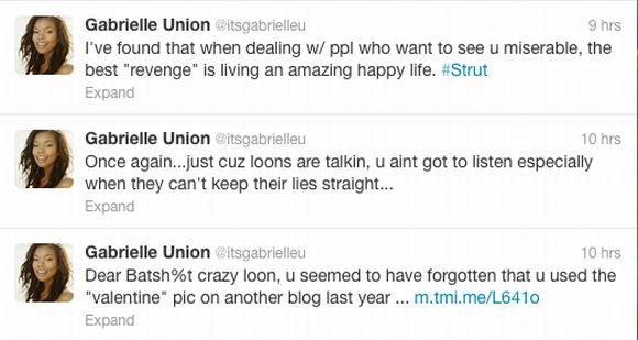 Gabrielle Union Responds to Groupie
