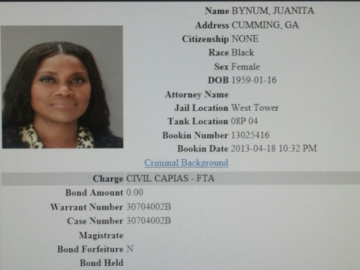 Juanita Bynum Arrested for Failure to Appear in COurt