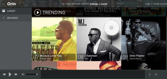 Orin New Music Streaming Service for Nigerian Artists