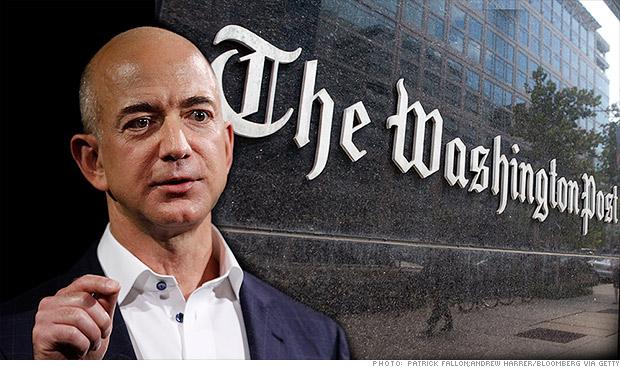 Amazon's Jeff Bezos Acquires Washington Post