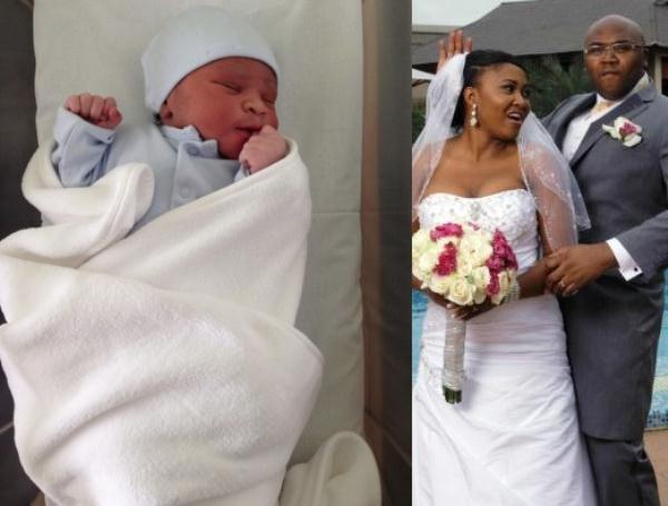 Jason Njoku and Mary Remmy Baby