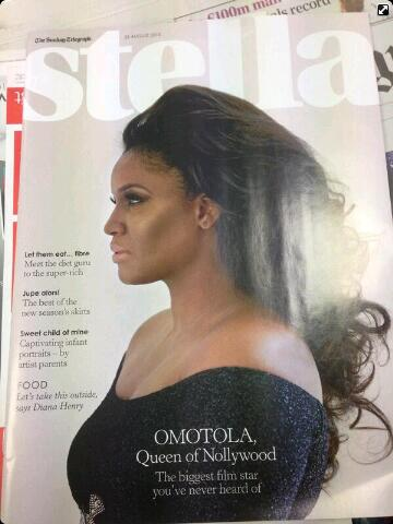 The Queen of Nollywood Omotola