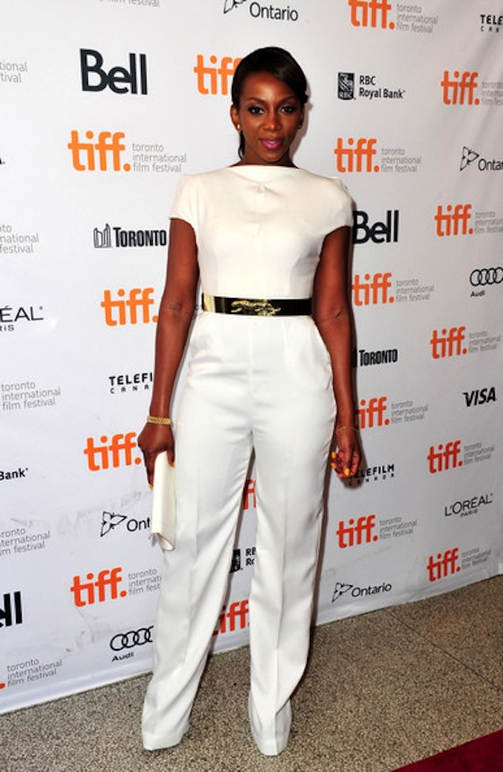 Genevieve Nnaji at the 2013 TIFF Premiere Half of a Yellow Sun