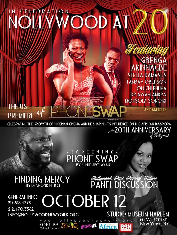 Nollywood US Premiere of Phone Swap