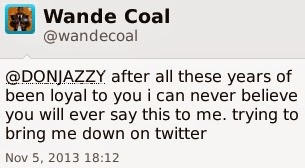 Don Jazzy v Wande Coal 7
