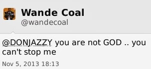 Don Jazzy v Wande Coal 8