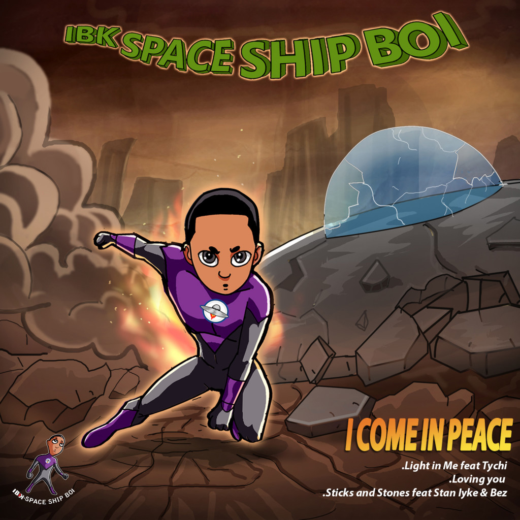 IBK Space Ship I Come in Peace