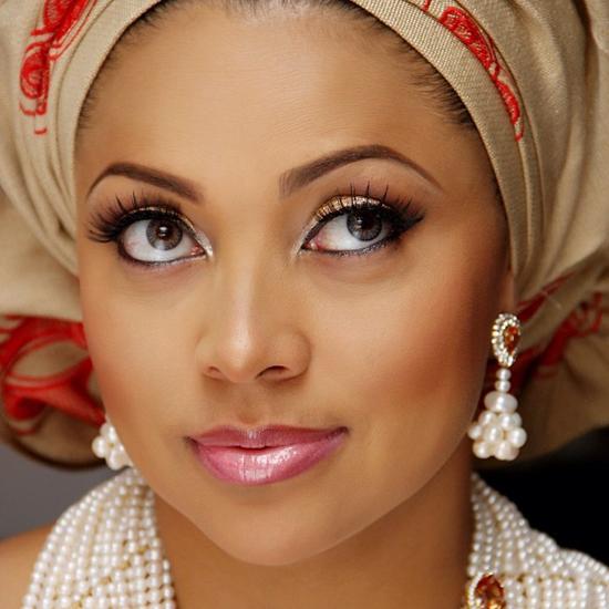 Lola Omotayo - Makeup by Banke Meshida Lawal