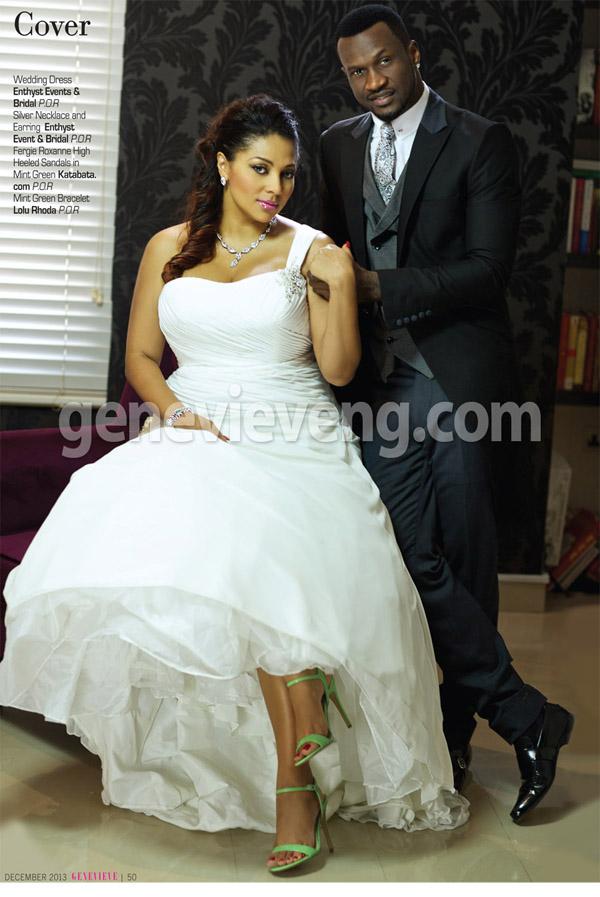 Peter Okoye and Omotayo 1 Wedding Edition