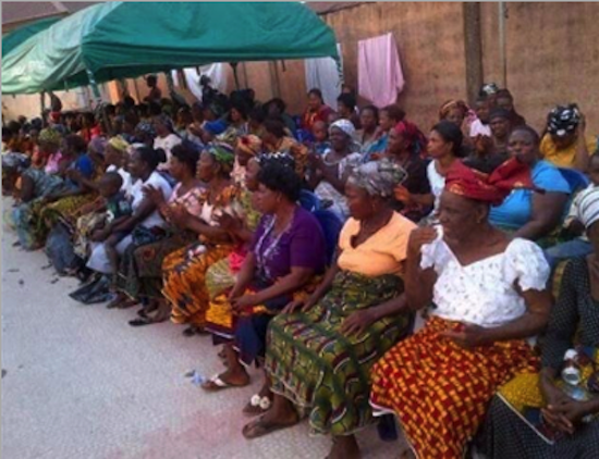 Mercy Johnson Donates Food and Clothing to 5000 Widows 8