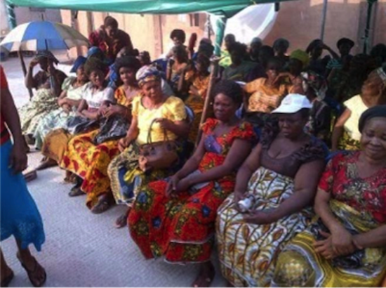 Mercy Johnson Donates Food and Clothing to 5000 Widows 9
