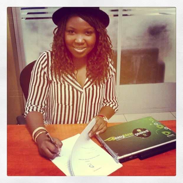Sasha P Signs Deal With Etisalat
