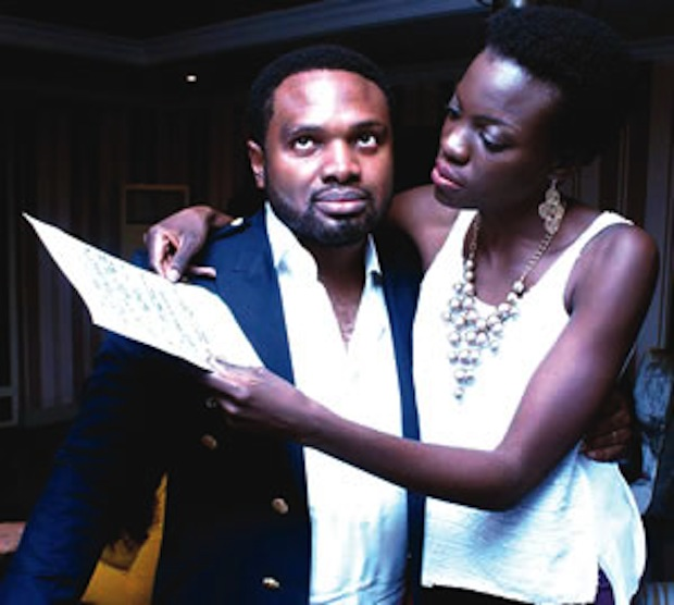 Cobhams Asuquo and Wife