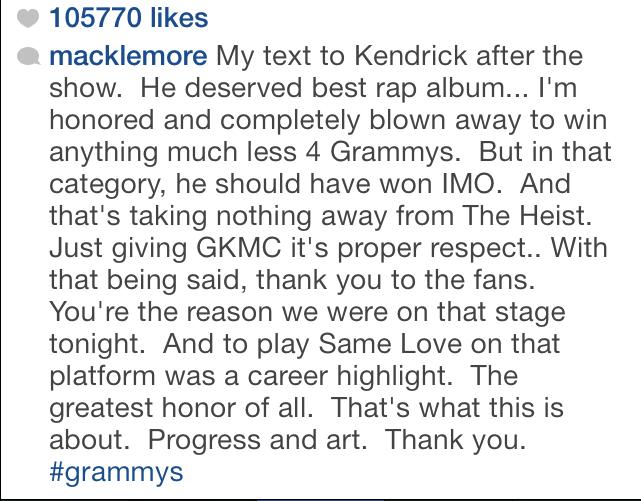 Macklemore and Kendrick 2