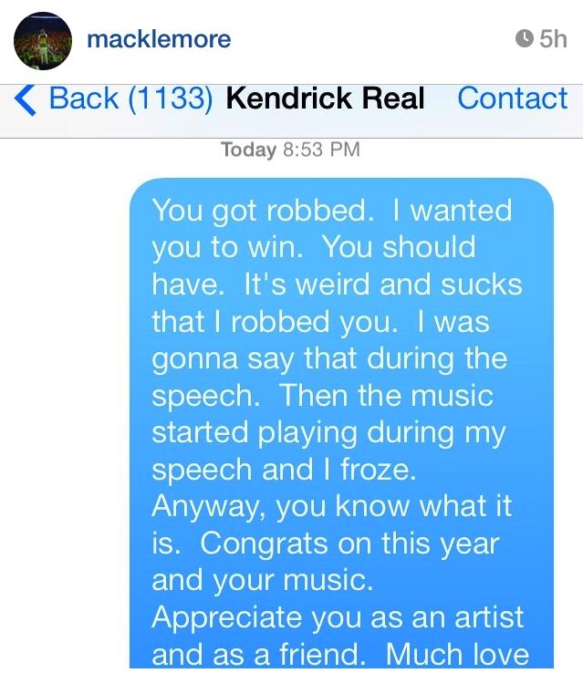 Macklemore and Kendrick 4