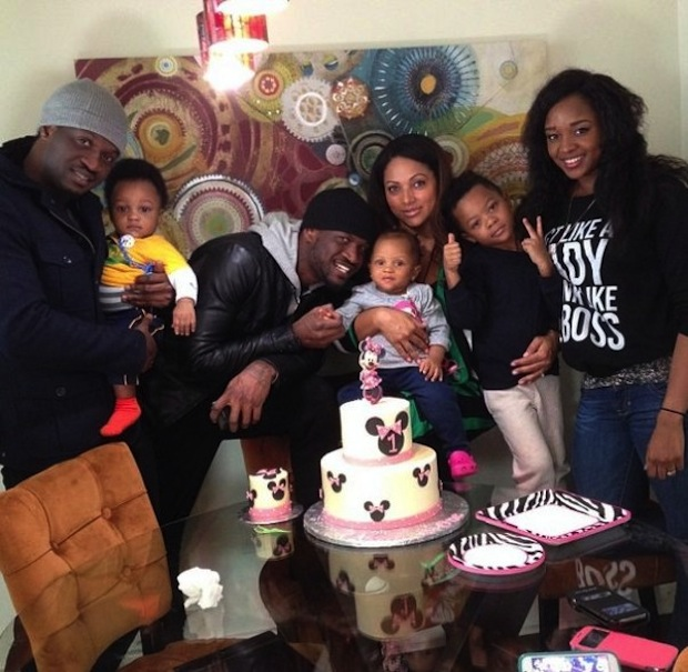 Peter Okoye Celebrate Daughter's Birthday