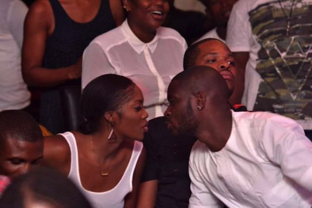 Tiwa Savage and Tee Billz at DJ Jimmy Jatt's Industry Nite