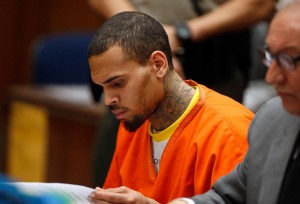 Chris Brown Jailed for One Month