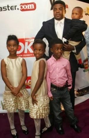Kunle Afolayan Family