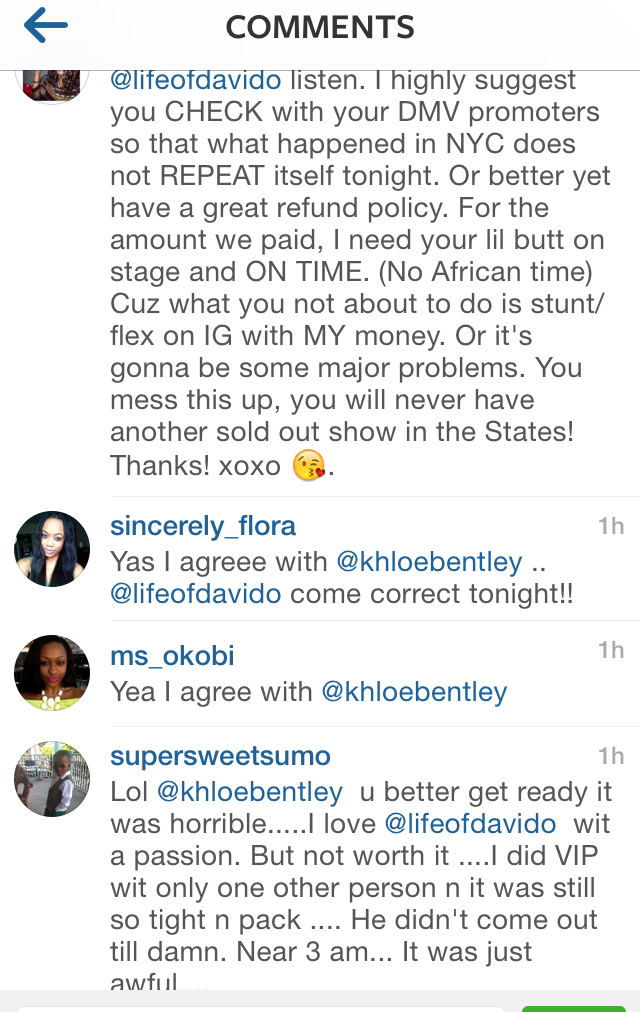 Davido Concert that Continues to Go Very Wrong 4