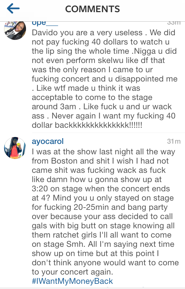 Davido Concert that Continues to Go Very Wrong 7