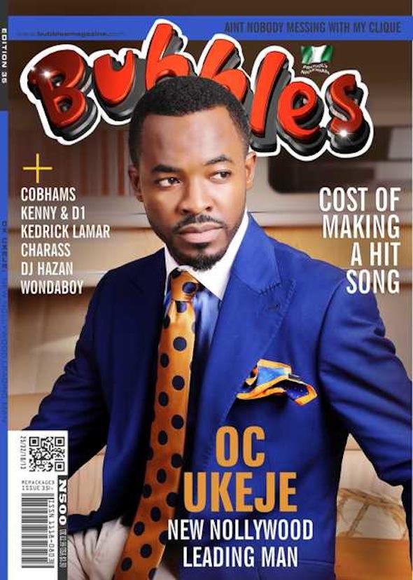 O.C Ukeje Bubbles Magazine