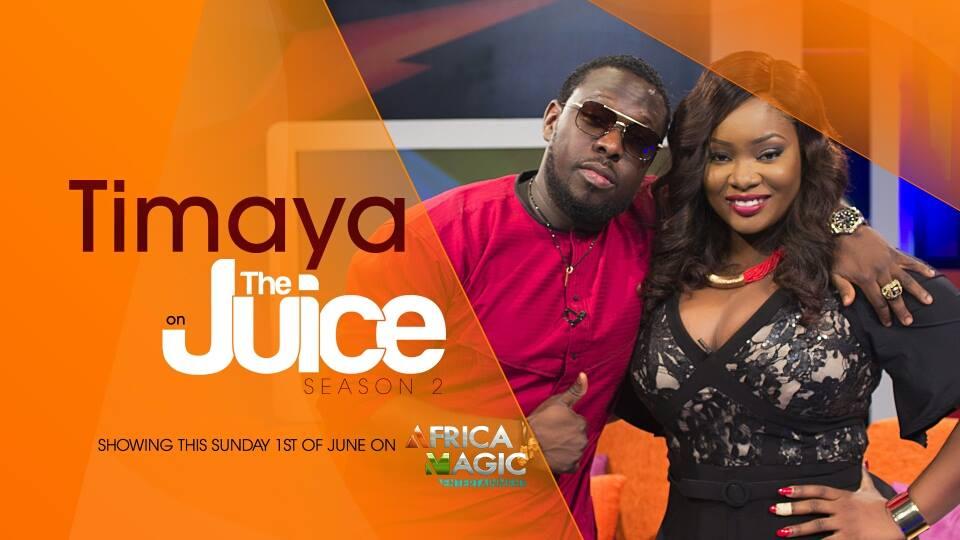 Timaya on The Juice - Music Business: (Video) Timaya Talks 'Bum Bum,' & Ukwu on The Juice with Toolz