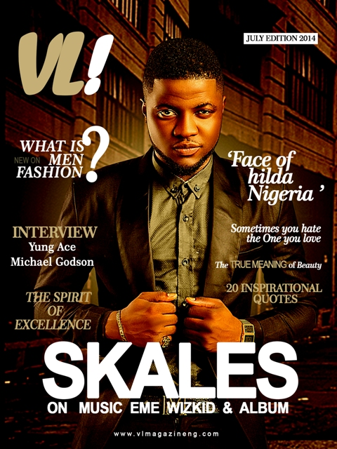 Skales on the Cover fo VL Magazine