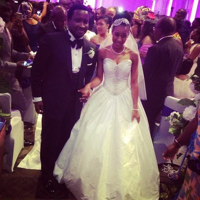 Gospel Singer Sonnie Badu Weds 2