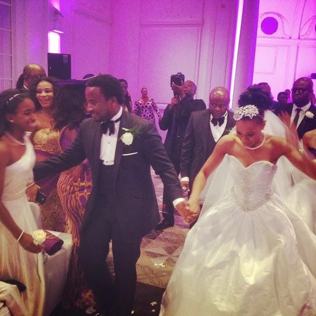 Gospel Singer Sonnie Badu Weds