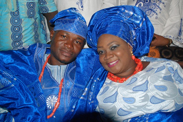 Princess Dammy Adeshola and Jeremiah