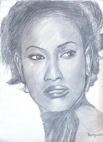 Uduak Sketch by Sunny Usoro