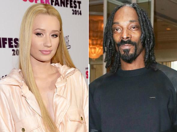 Iggy v Snoop - Celebrities Behaving Badly: SNOOP Dogg Displays Terrible Ugliness Towards @IGGYAZALEA