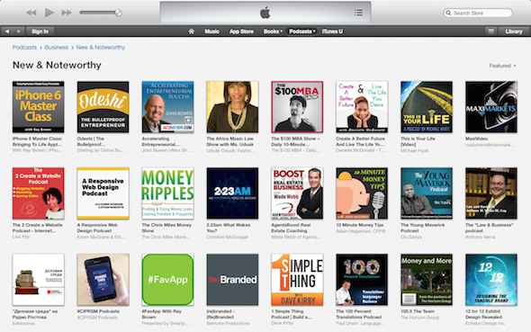 The Africa Music Law Show on iTunes New and Noteworthy