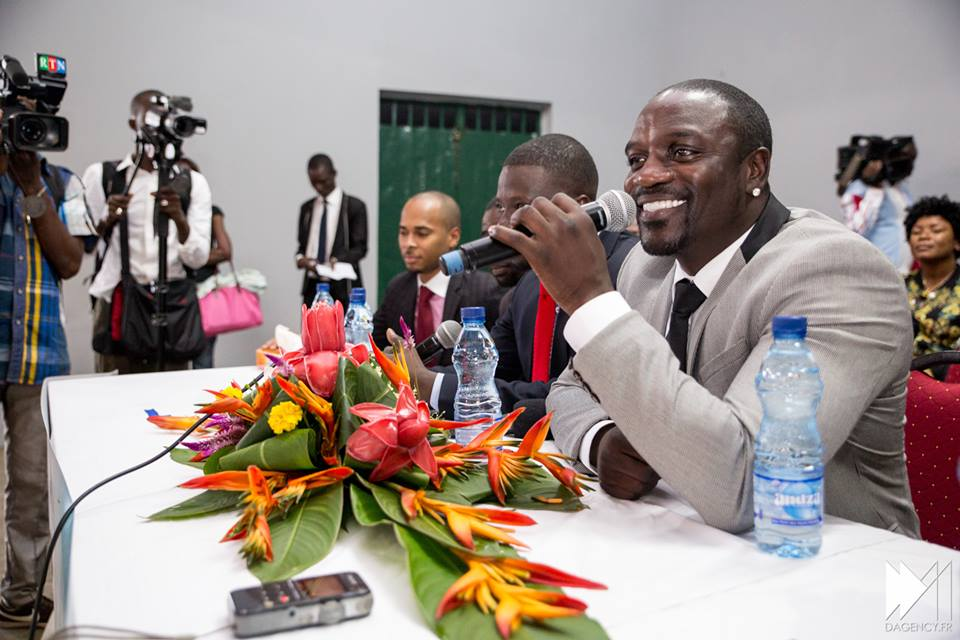 Akon in recent times in Gabon
