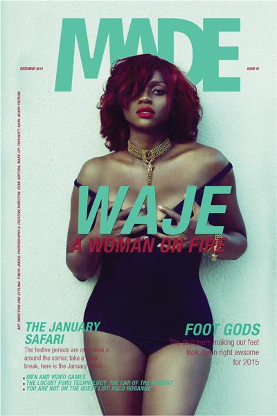 Waje for Made Magazine 1