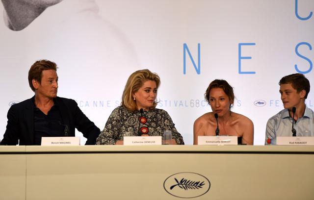 """""""La Tete Haute"""" Press Conference - The 68th Annual Cannes Film Festival"""