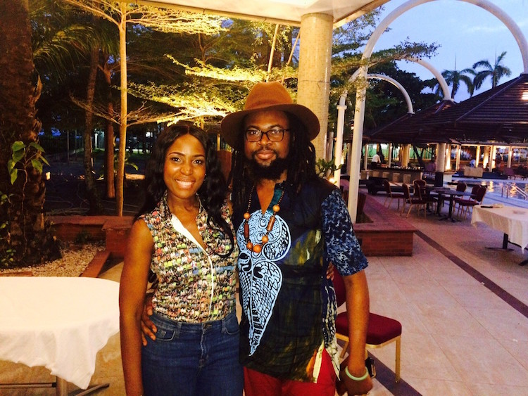 Linda Ikeji and Onyeka Nwelue