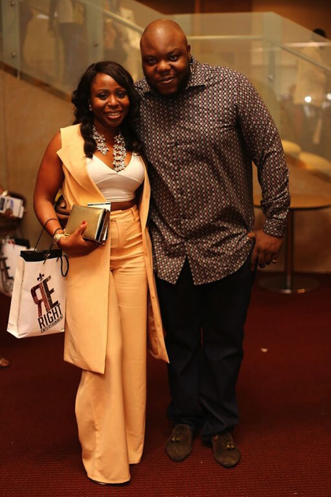 NEA Awards 2015 Bizzle and Toyosi Phillips