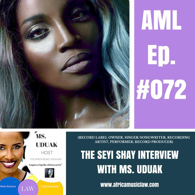SeyiShayInterview - AML 072: Interview with Seyi Shay @iamseyishay