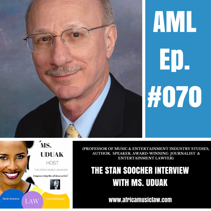 Stan Soocher - AML 070: Interview with Stan Soocher, Author of Baby You're a Rich Man: Suing the Beatles for Fun and Profit